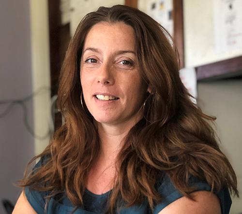 Marie LACOSTE, Co-fondatrice et Directrice de l'association depuis 2002